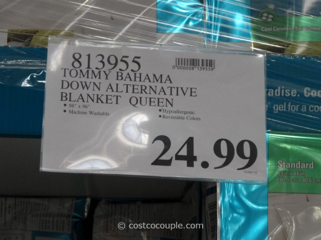 Tommy Bahama Down Alternative King Queen Blanket Costco 3
