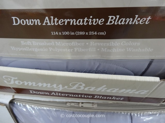 Tommy Bahama Down Alternative King Queen Blanket Costco 4