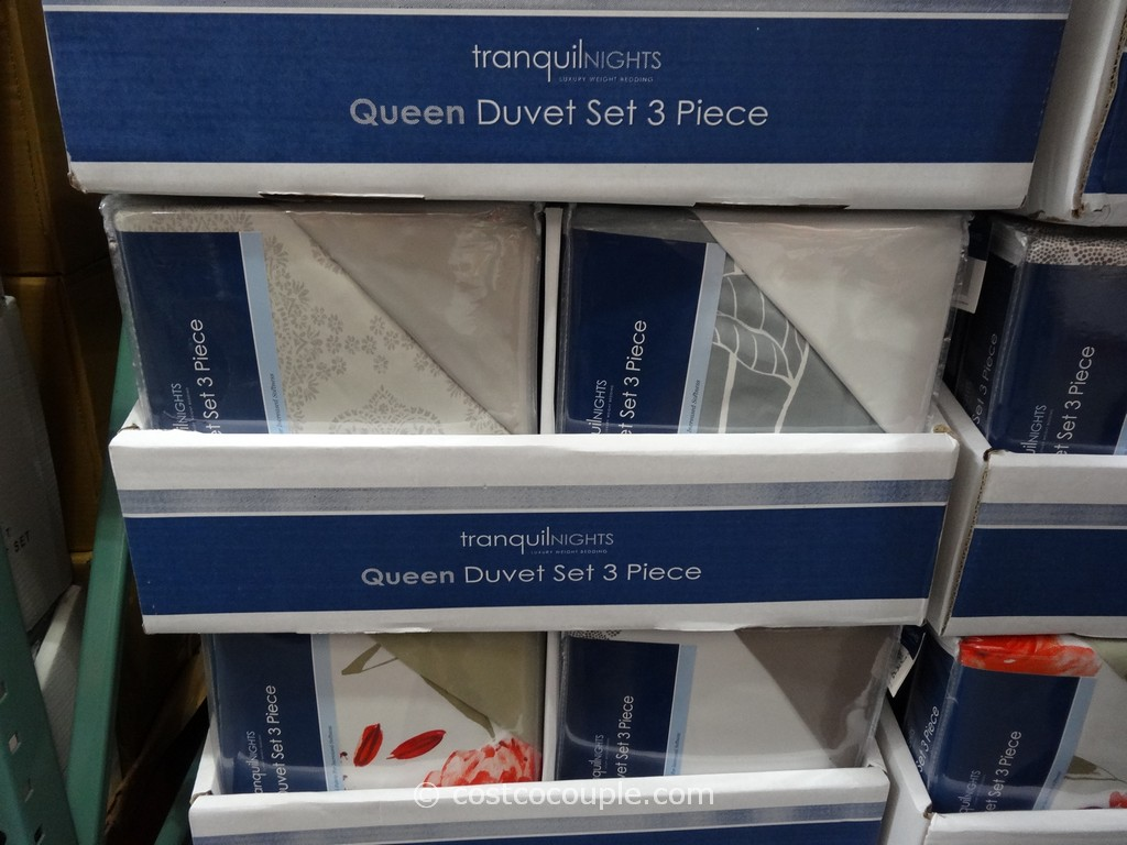 Tranquil Nights Queen Duvet Set Costco 1