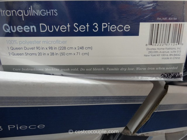 Tranquil Nights Queen Duvet Set Costco 2