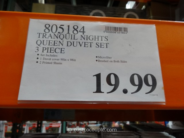 Tranquil Nights Queen Duvet Set Costco 3