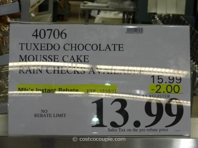 Tuxedo Chocolate Mousse Cake Costco 1