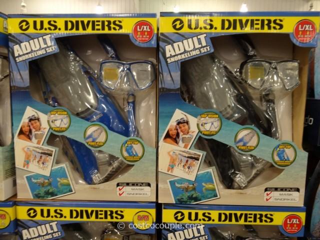 US Divers Adult Snorkel Set Costco 1