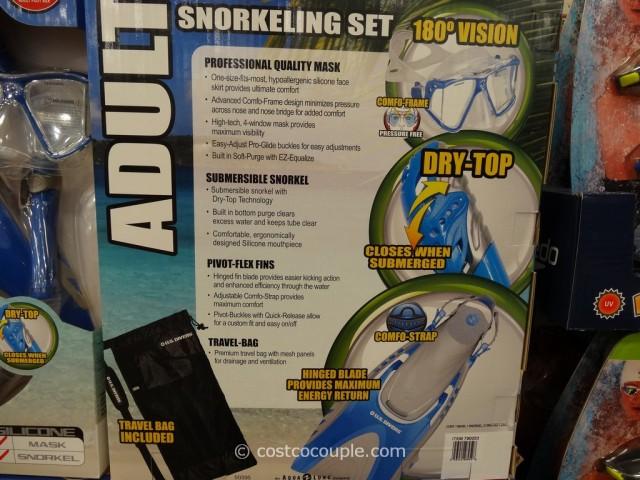 US Divers Adult Snorkel Set Costco 4
