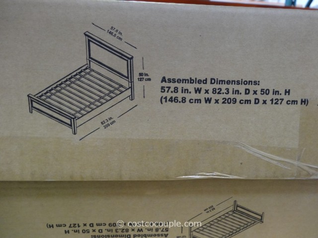 Universal Furniture Finn Full Bed Costco 4