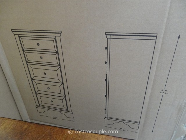 Universal Furniture Midland Park Lingerie Chest Costco 5