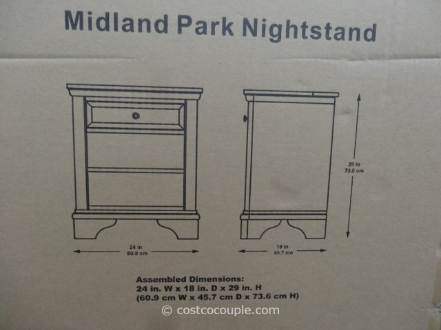 Universal Furniture Midland Park Nightstand Costco 4