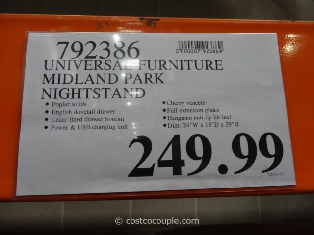 Universal Furniture Midland Park Nightstand Costco 5