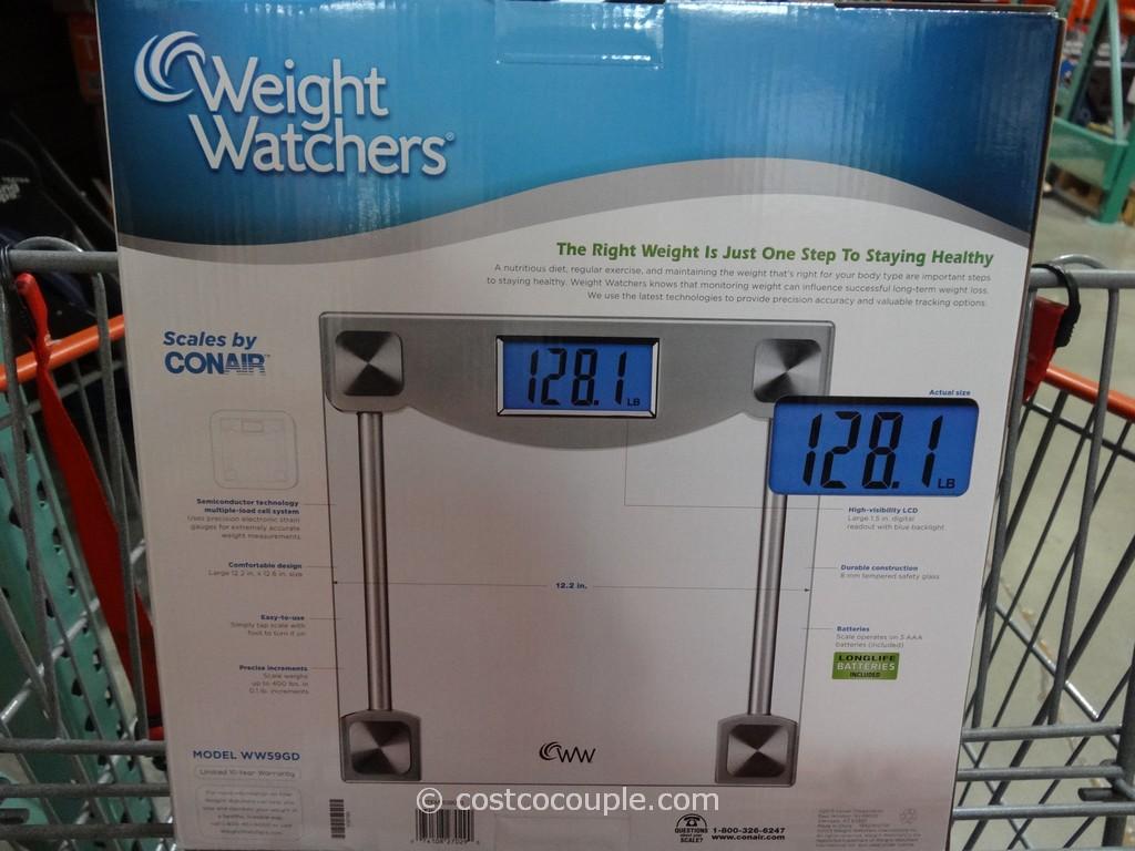 Weight Watchers Digital Glass Scale