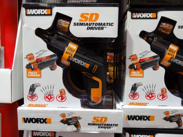 Worx Sd Semi Automatic 4v Li Ion Driver