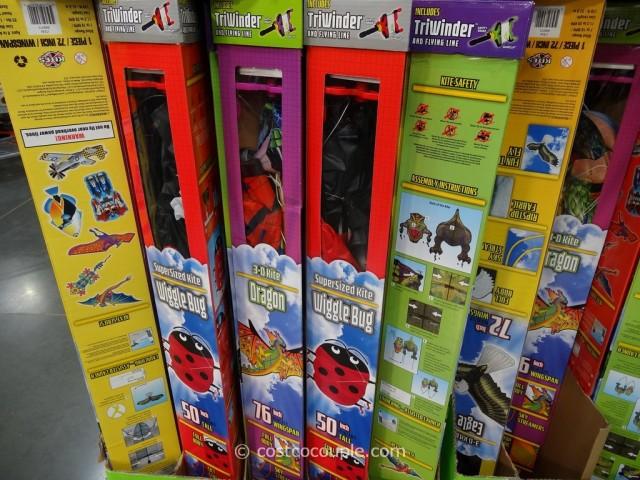 X-Kites Deluxe Triwinder Kites Costco 5