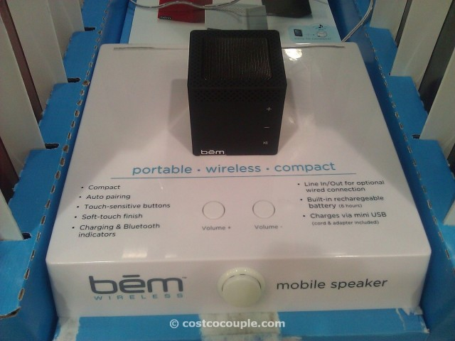 bem wireless bluetooth mobile speaker Costco 2