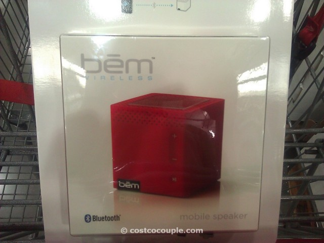 bem wireless bluetooth mobile speaker Costco 3