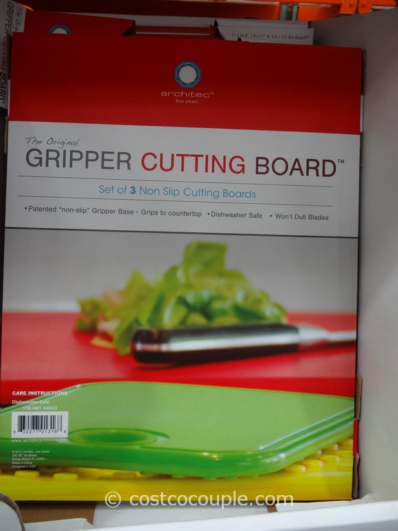 Architec gripper cutting boards for Architec cutting board