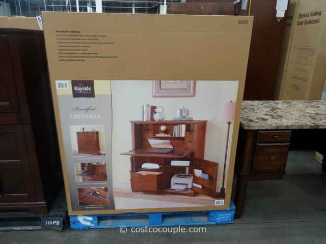 Bayside Furnishings Brantford Credenza Costco 2