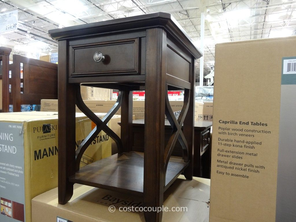 Bayside Furnishings Caprilla End Tables Costco 2
