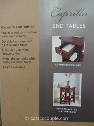 Bayside Furnishings Caprilla End Tables