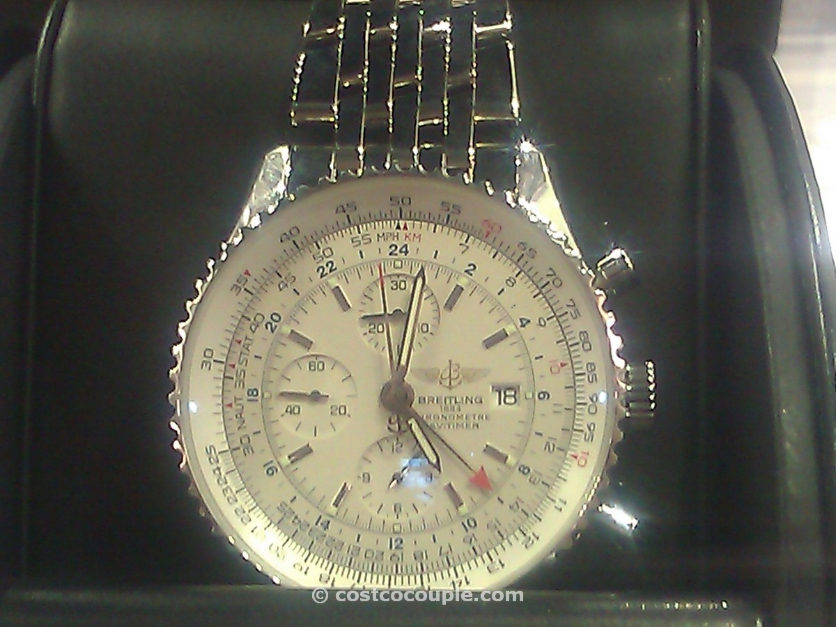 Breitling Navitimer Mens Automatic Silver Costco 2