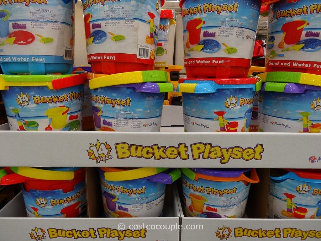 Bucket Playset Costco 1
