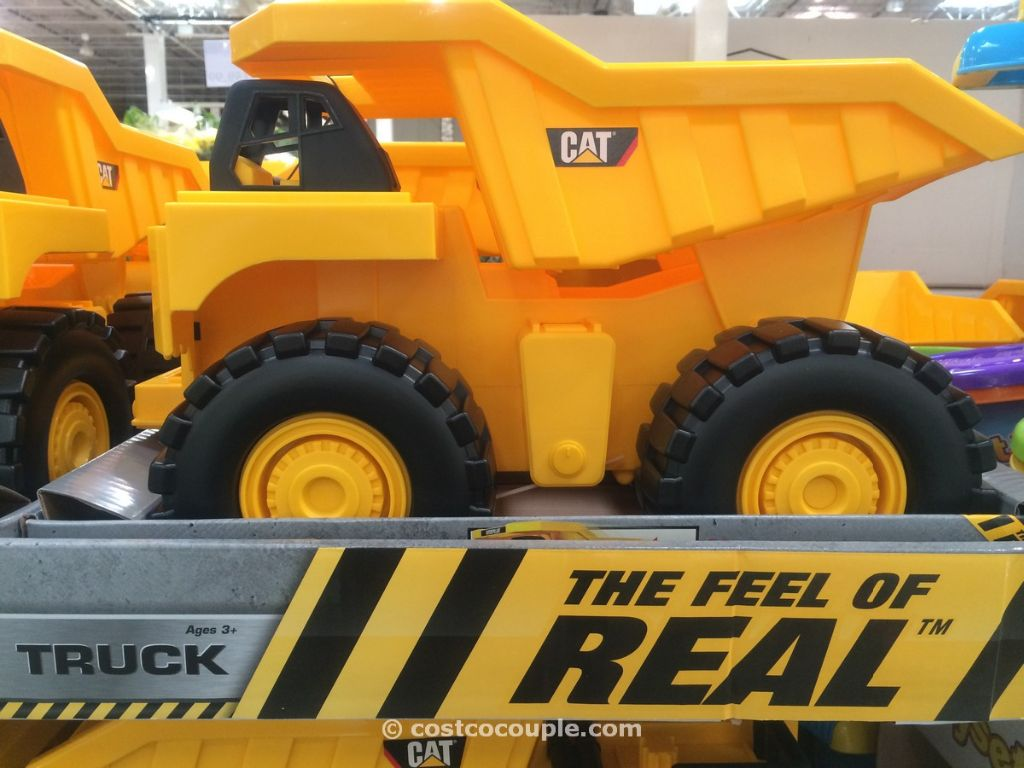 CAT Rev-Up Dump Truck Costco 1
