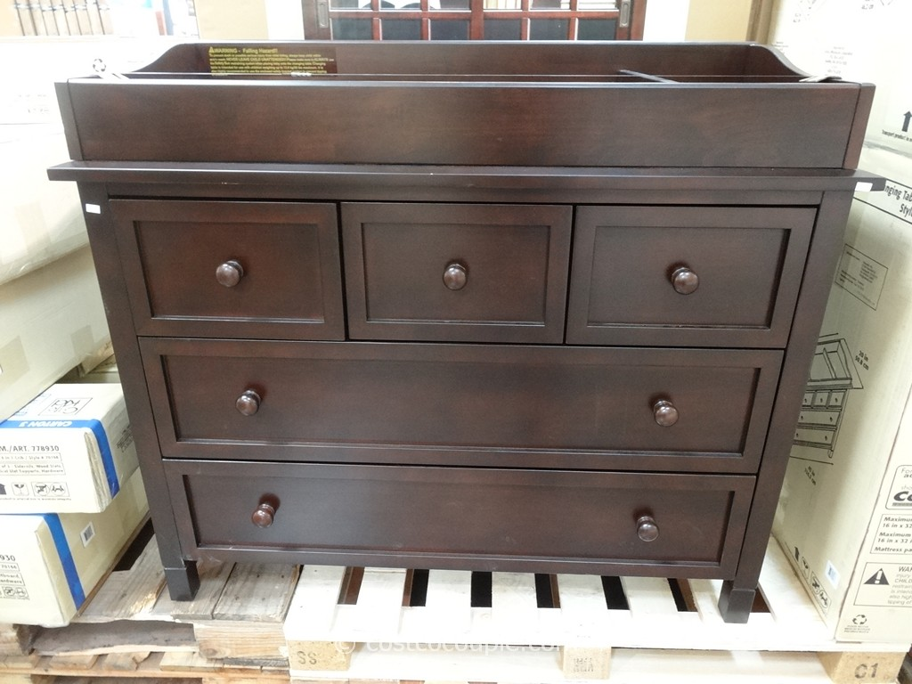 Cafe Kid Morgan Changing Table Dresser Costco 6
