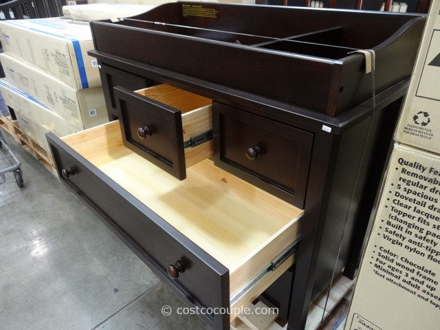 Cafe Kid Morgan Changing Table Dresser Costco 8