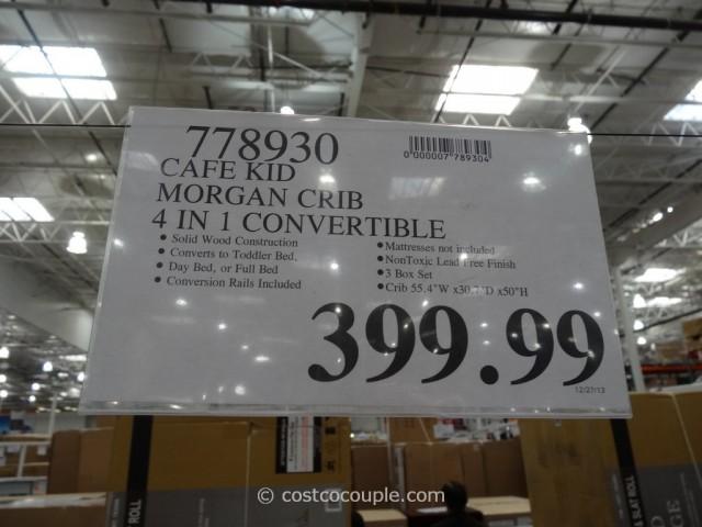 Cafe Kid Morgan Convertible 4-in-1 Crib Costco 1