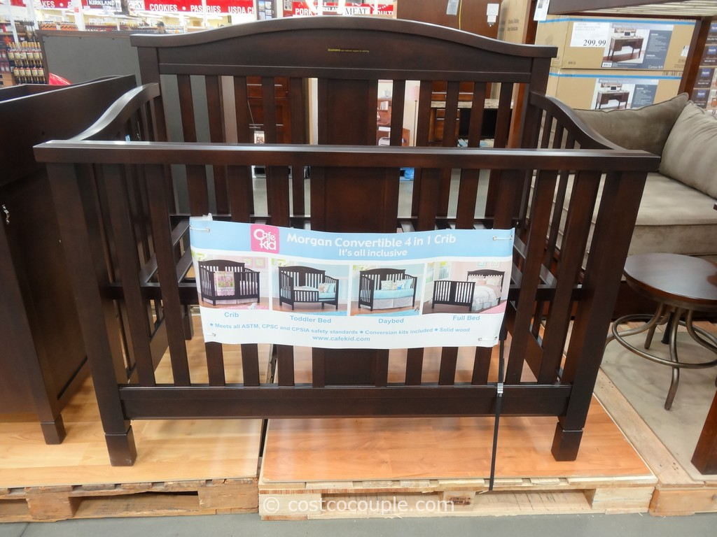 Cafe Kid Morgan Convertible 4-in-1 Crib Costco 2