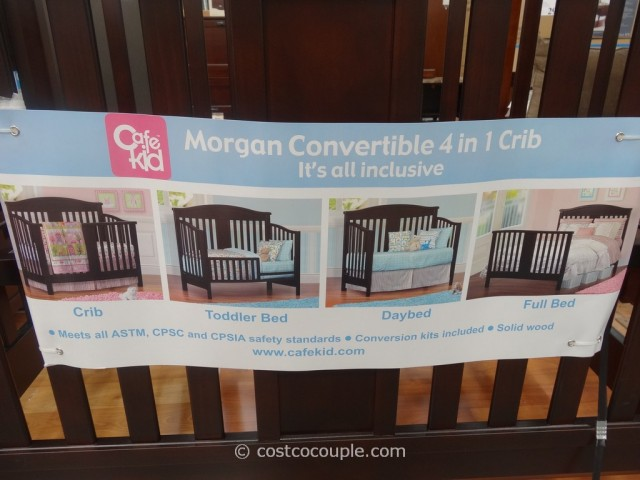Cafe Kid Morgan Convertible 4 In 1 Crib