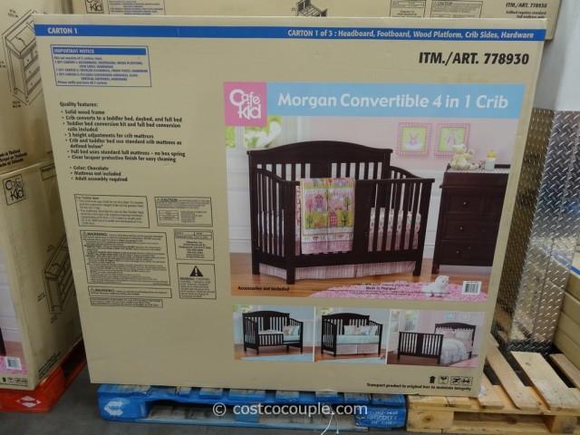 Cafe Kid Morgan Convertible 4-in-1 Crib Costco 4
