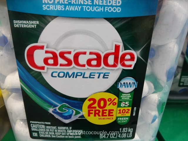 Cascade Complete Action Pacs Costco 3