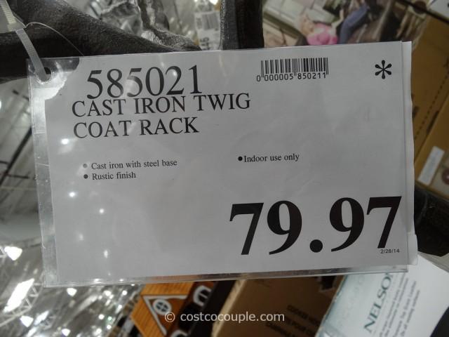 Cast Iron Twig Coat Rack Costco