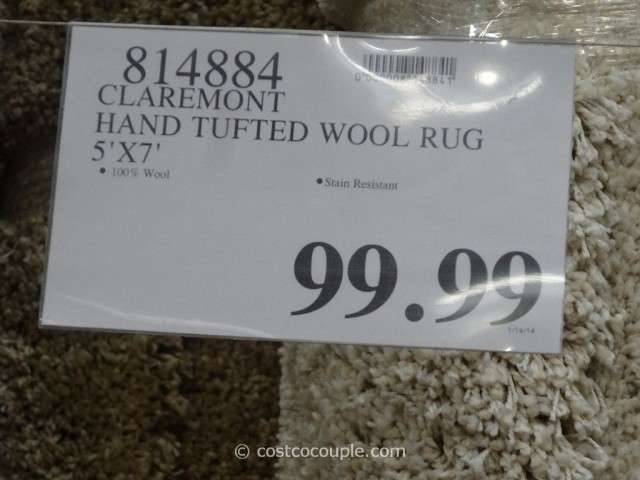 Claremont Hand Tufted Wool Rug Costco 1