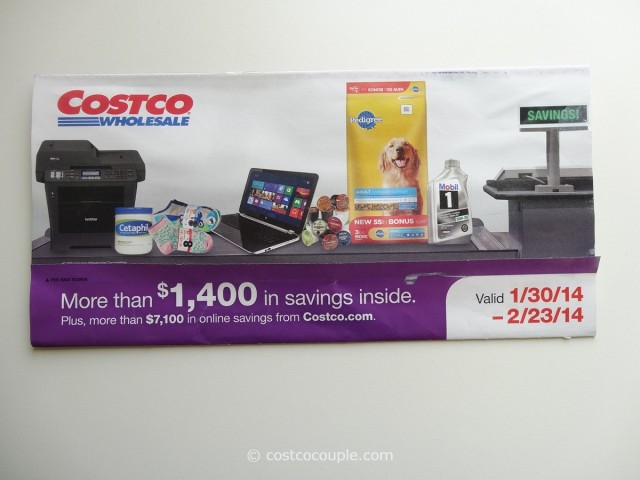Costco Feb 2014 Coupon Book 1