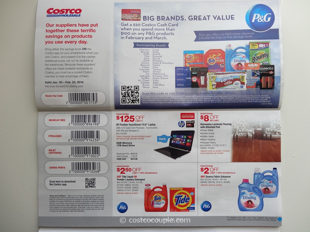The new August Costco coupon book that takes effect today is a vastly simplified version of the July book that expired just a few days ago. That version, as with many before it, featured a mix of instant savings coupons that were automatically applied to your purchase, and bar-coded coupons that had to be cut out, handed to your cashier and scanned.