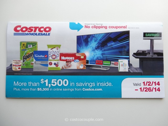 Costco January 2014 Coupon Book 1
