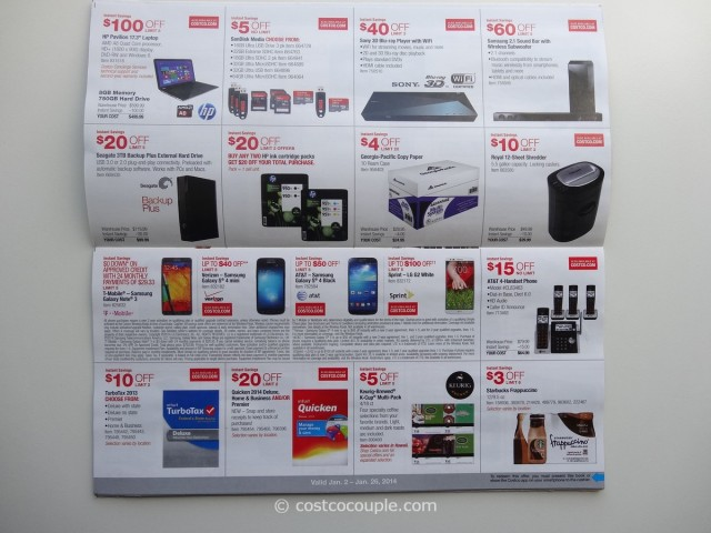 Costco January 2014 Coupon Book 3