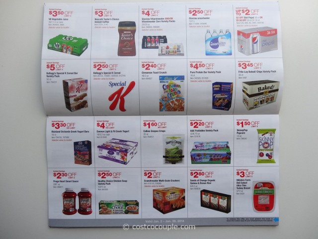 Costco January 2014 Coupon Book 4
