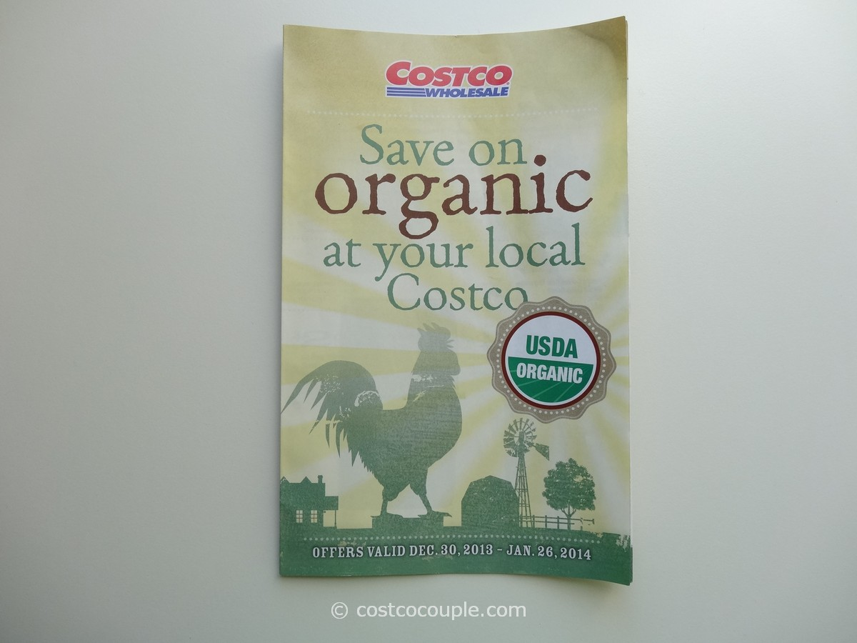 Costco January 2014 Organic Instant Savings 1