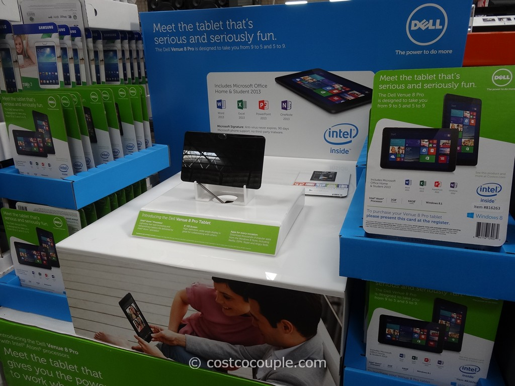 Dell Venue 8 Windowss Tablet Costco 1