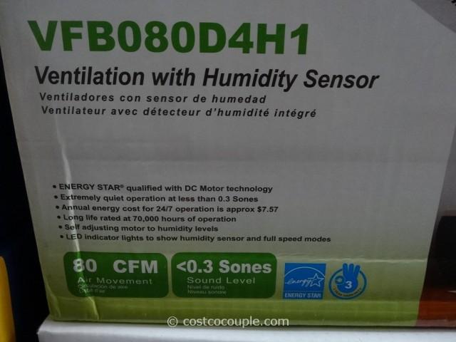 Delta Breez Humidity-Sensing Bath Ventilation Fan Costco 3