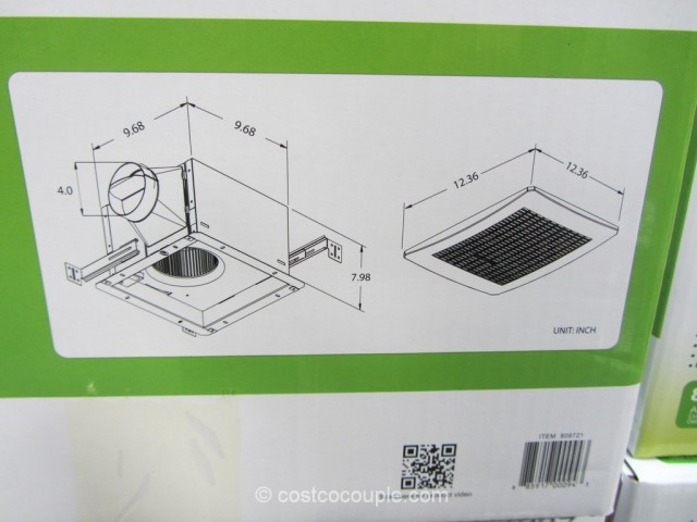 Delta Breez Humidity-Sensing Bath Ventilation Fan Costco 7