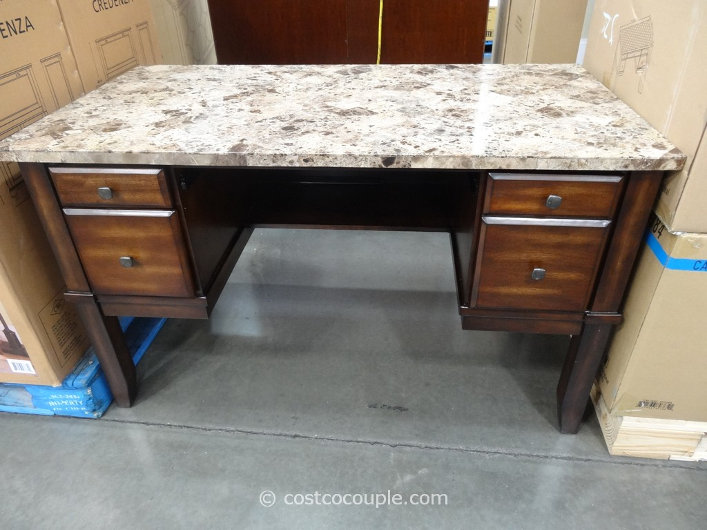 Divino Marble Top Writing Desk Costco 2