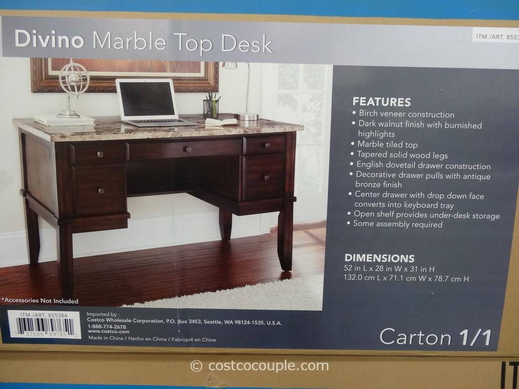 Desk with glass top at costco hostgarcia - Costco office desk ...