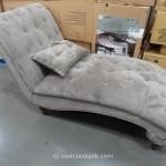 Emerald Ava Fabric Chaise Lounge Costco 3