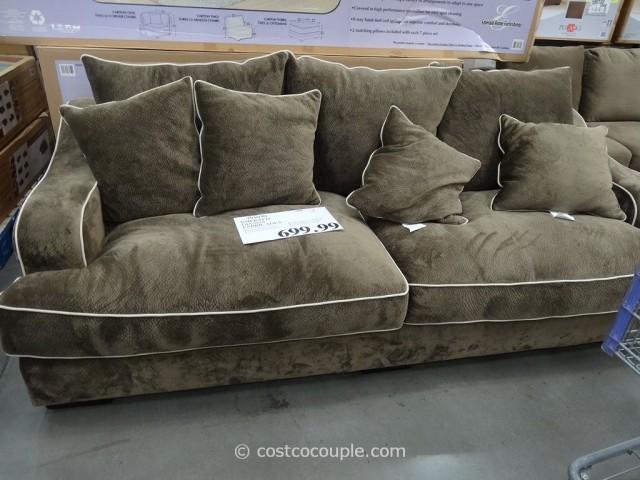 Emerald Gianna Fabric Sofa Costco 5