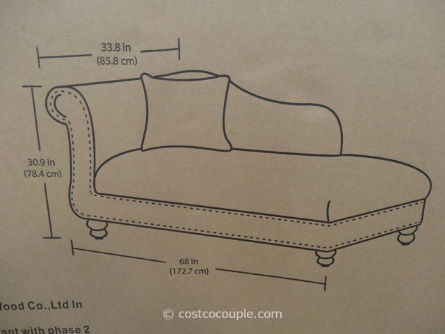 Emerald Margaret Chaise Costco 5
