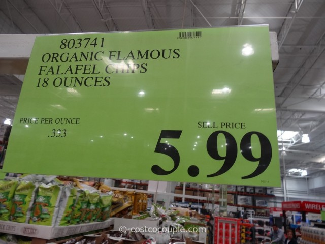Flamous Organic Falafel Chips Costco 1