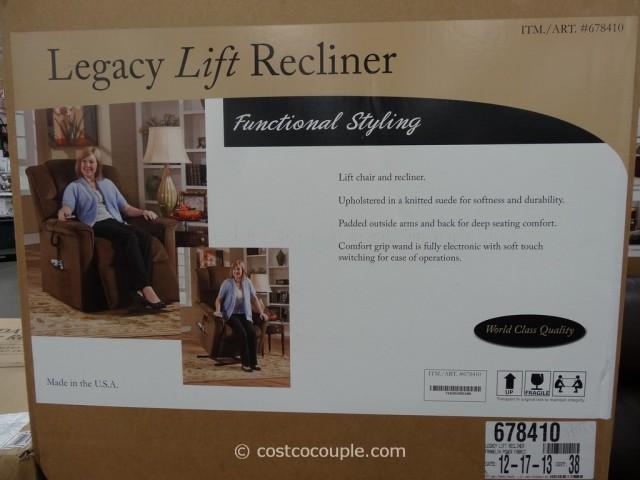 Franklin Legacy Fabric Lift Recliner Costco 2