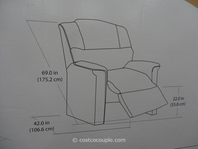 Franklin Legacy Fabric Lift Recliner Costco 4